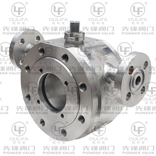 Wafer Type Jacketed Ball Valve pictures & photos