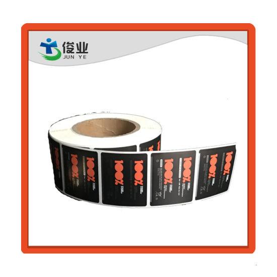 Customized Printing Battery Sticker Labels Shrink Film Battery Labels PVC Sticker