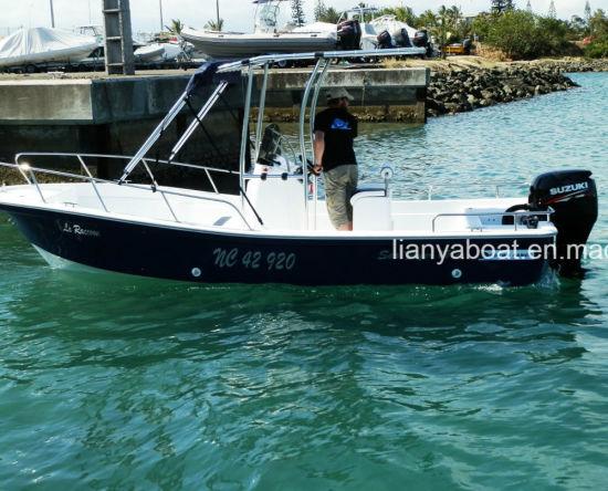 Liya 19feet 5.8m Marine Yacht with Ce Fiberglass Fishing Boat