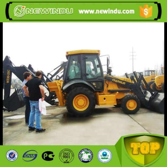 High Performance Changlin 1m3 Backhoe Loader Wz30-25c Price pictures & photos