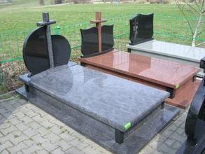 Poland Beida Qing Granite Black Tombstone Monument Headstone Flower Bed
