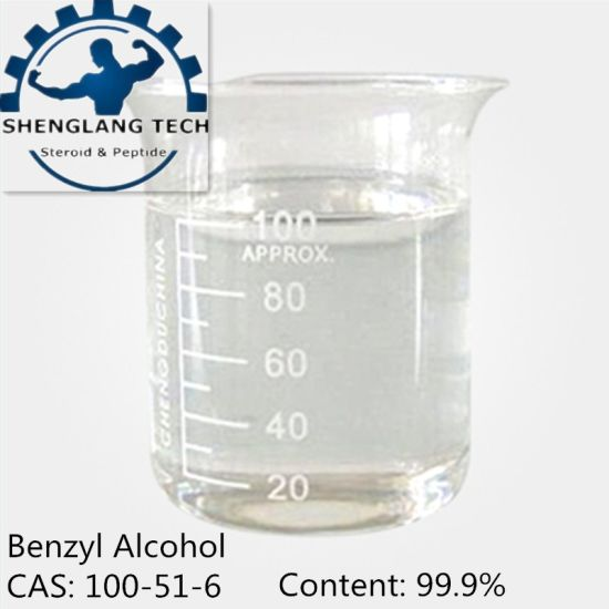 Factory Price for 99.9% Purity Benzyl Alcohol CAS: 100-51-6