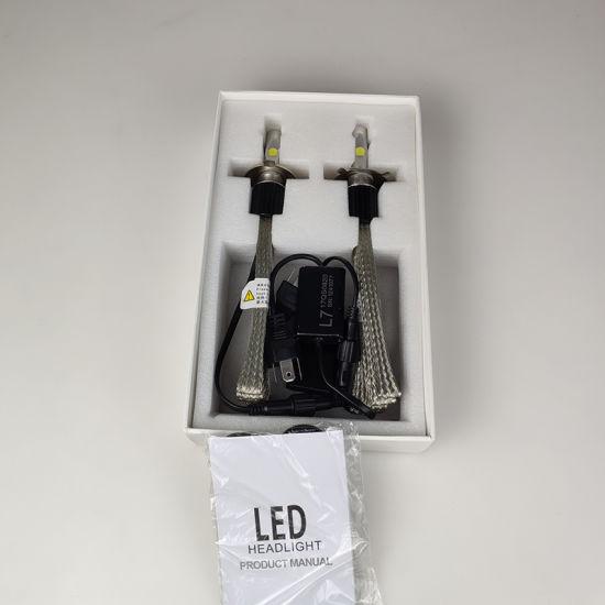 China Smallest LED Headlight Bulbs Fanless 9005 9006 Custom