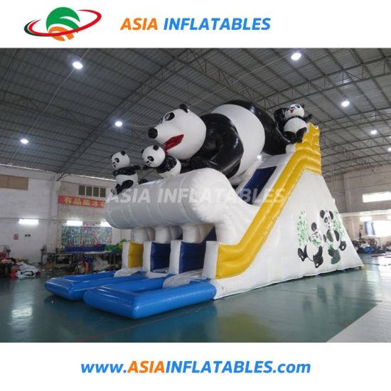 Hot Sale Inflatable Bear Design Slide with PVC Tarpaulin pictures & photos