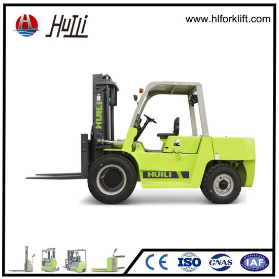 7 Ton Diesel Forklift Truck for Carry The Stone