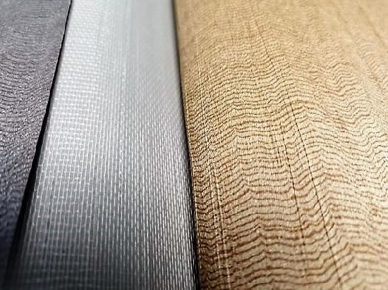 White Polyester Cotton Mesh Cloth Osnaburg Weave Fabric Wallcovering Scrim