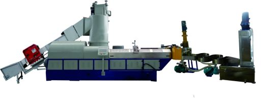 PP PE Pelletizing Machine with Agglomerator Compactor Online pictures & photos