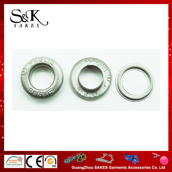 Various Design of Metal Gromet Eyelet with Plating Color