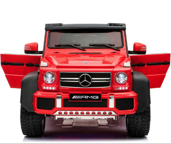 2018 Hot Selling Mercedes Benz G63 Licensed 24V Electric Kids Ride on Car  with 6 Wheels