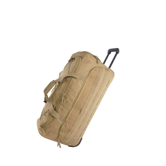 "Waterproof Tactical 30"" Squad Large Tactical Rolling Duffel Bag"