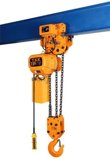 Hoisting Type 7.5 Ton Construction Equipment with Electric Trolley pictures & photos