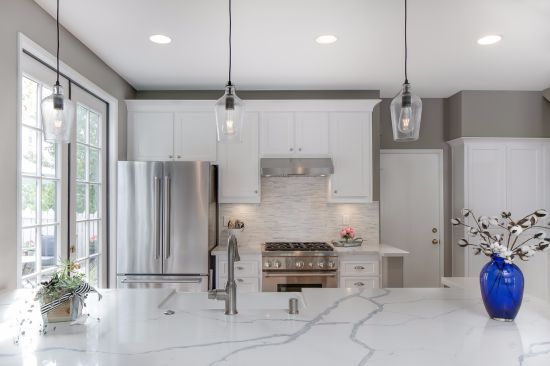 Calacatta White for You Kitchen Stone Bench Top/Table Top ...