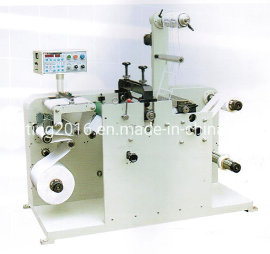 Adhesive Label Paper Cut Roll to Roll Rotary Die Cuttter and Slitter Machine