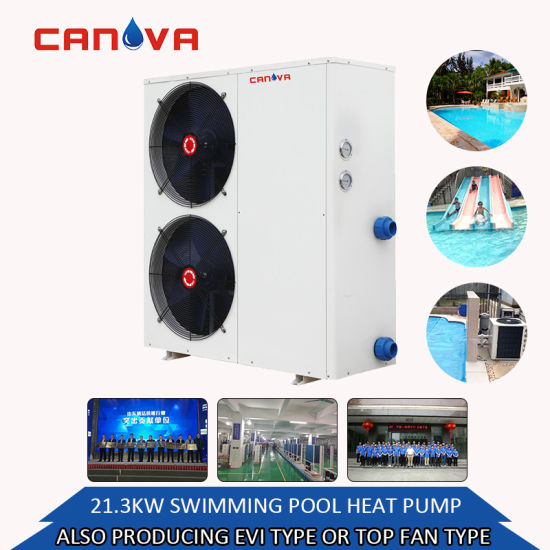 Customized OEM Low Price Popular Long Warranty Air Source Pool Heat Pump with for Hot Water or House Heating