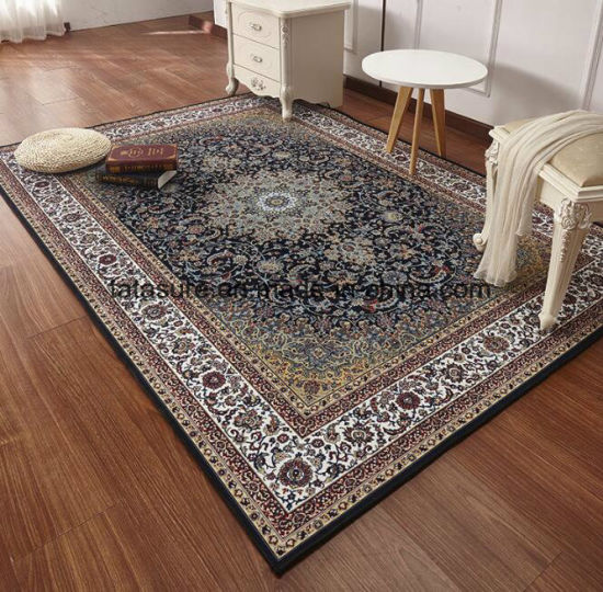 China Persia Polyester Printed Carpet Rugs Indoor Floor Mat For