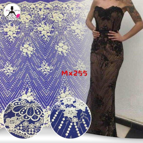 China Soft Touching Garment Material Custom Malaysia Embroidered