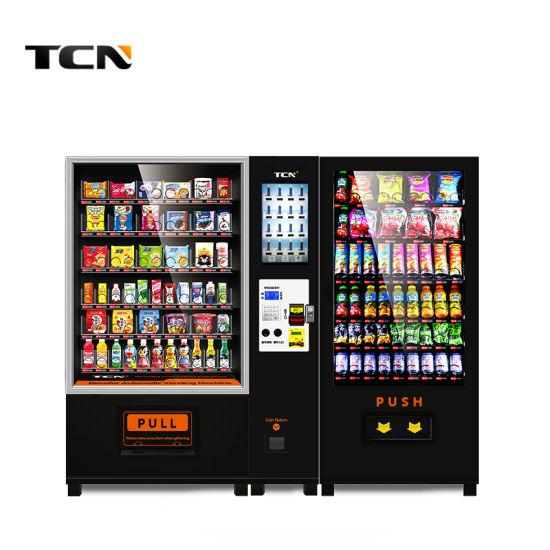 Tcn Beverage Snack Drink Combo Vending Machine Hot Sale
