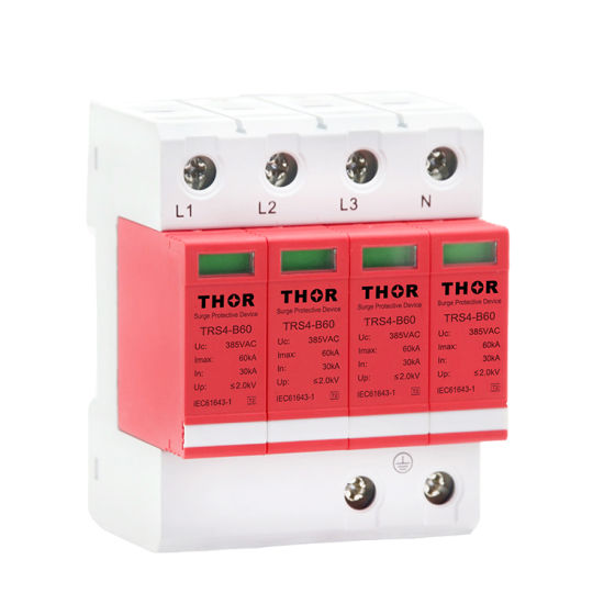 Transient Surge Protector Tvss 60ka Lightning Protector Surge Protective Device pictures & photos