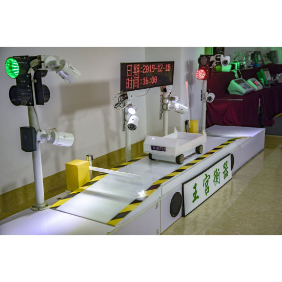 Scs-100 Digital Electronic Unmanned Automatic Truck Weighing Scale
