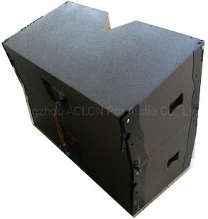 "PRO Audio Amplifier 3 Way Double 15"" Neodynium Full Range Audio Mixer Line Array Speaker (VT215)"