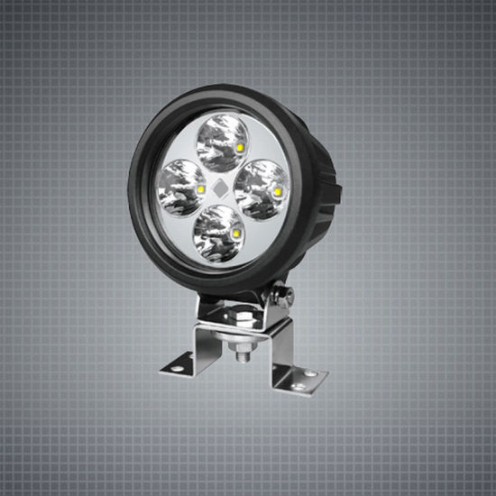 Round LED Working Light Auto Parts 5 Inch 40W LED Work Light