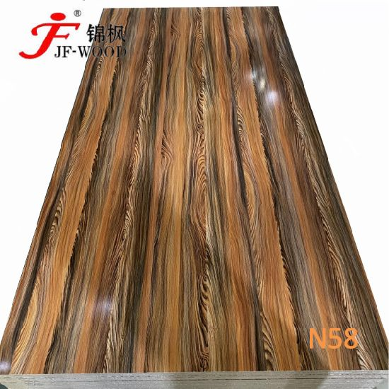 2021 Factory Directly Sale High Gloss Embossed School Furnitures Melamine China MDF HDF Bb Board