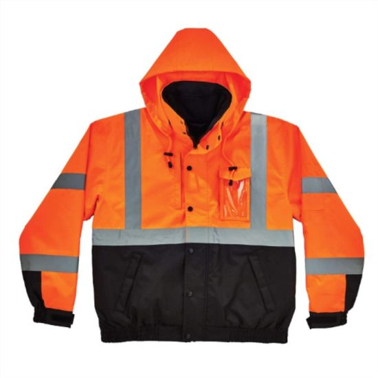 Hi Vis Reflective Waterproof Safety Jacket Clothing Jacket Apparel pictures & photos