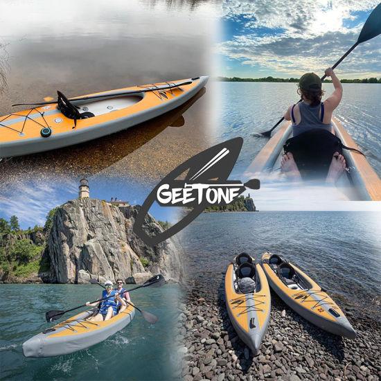 Private Patent Dropstitch Inflatable Kayak Drop Stitch Tandem 1 2 Person