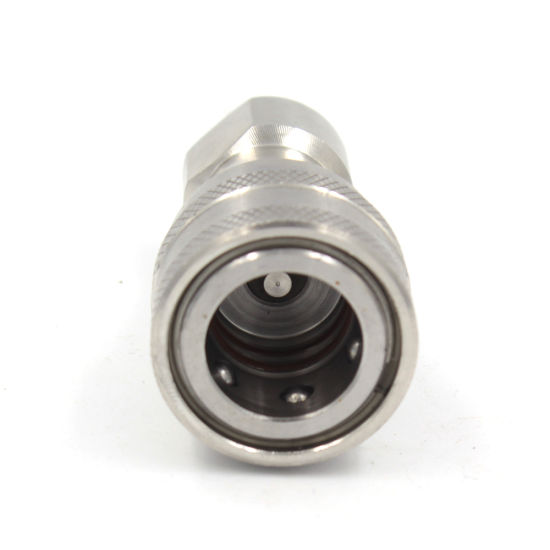 """3/8"""" ISO7241-1b Faster Hnv Hansen HK Interchange Qrc Stainless Steel Quick Release Couplings SS304, SS316"""