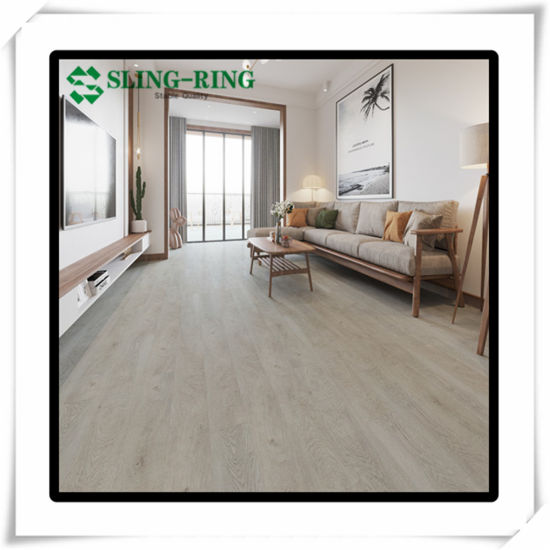 2mm 3mm 4mm Vinyl Flooring Lvt Micro Bevel Painted Bevel Water Proof 0 Formaldehyde PVC Flooring