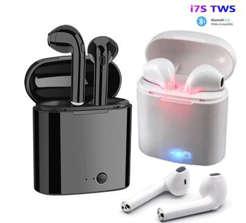 Wholesale OEM Tws I7 Twins Ear Ture 5.0 Private Label Black Bass Wireless Earbuds True Binaural Stereo Headset I7s