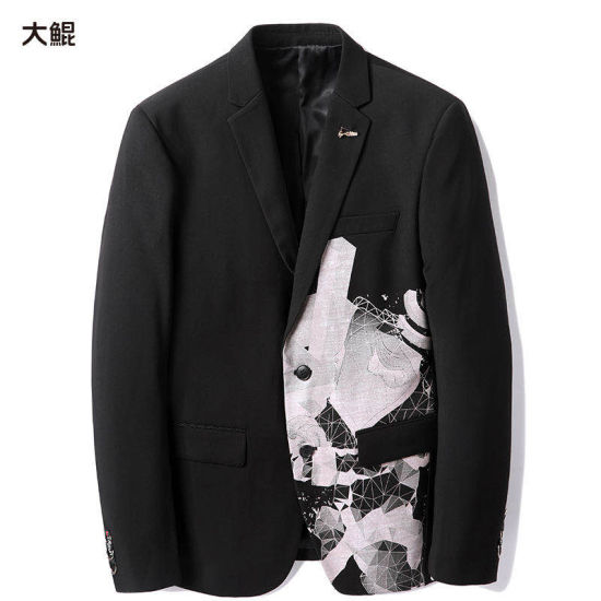 Wholesale Chinese Famous Brand Dakun Men's Clothes Office Quaility Pattern Suit
