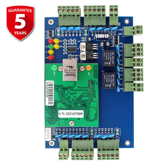 Web-Based Smartphone APP TCP IP 2 Doors Access Control Board