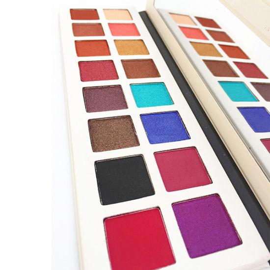 Custom Eyeshadow Palette High Pigmented Vegan 16 Color Cosmetics Makeup Eyeshadow Palette