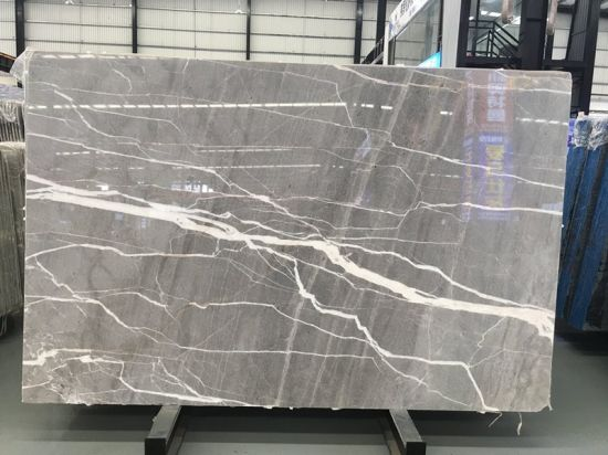 China Grey Marble Stone For Slabs Countertop Vanity Table Top Workbench Flooring Floor Tile Background Wall Tiles China Marble Tile Marble Slab