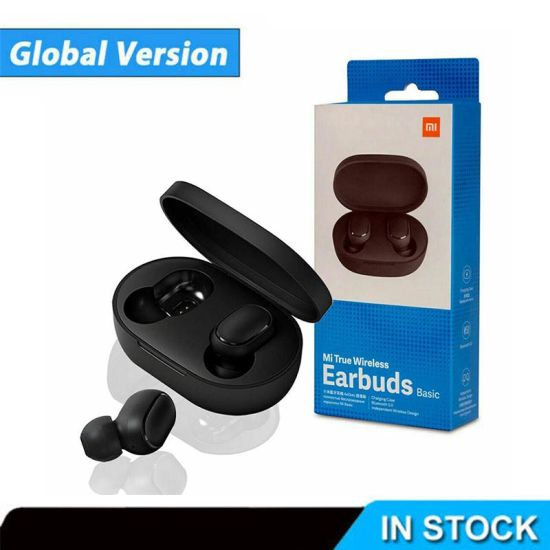 China Factory Wholesale Bluetooth Mi True Wireless Earbuds For Xiaomi Redmi Airdots China Earphones And Headphone Price