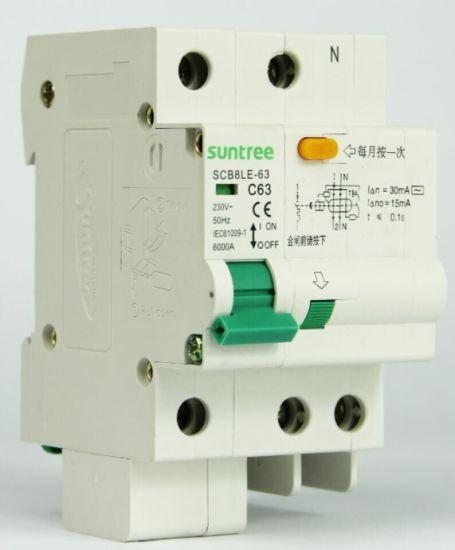 Commutateur 63 Amp 30 mA RCD RCCB rail DIN 4 p/ôles 400 V 3 phases
