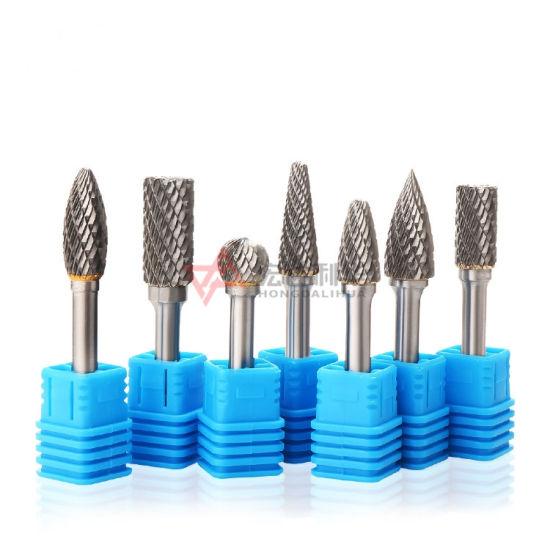 1/8 Inch Shank Tungsten Carbide Burr Rotary Drill Bits Cutter Files