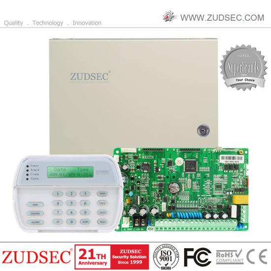 Dual Network Burglar PSTN GSM Home Security Alarm System