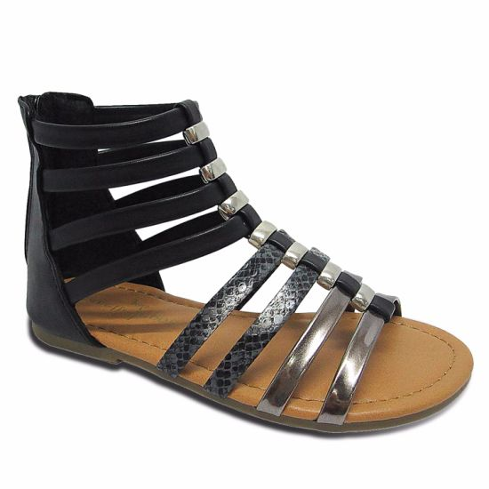 6098fc390 China Rome Sandals Hot Sale Summer Classic Ladies Sandals for Women ...