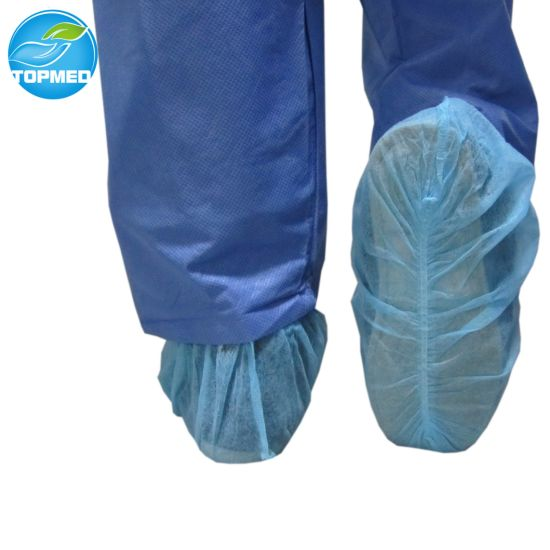 Surgical Waterproof Nonwoven Shoe Cover, SBPP Shoe Cover