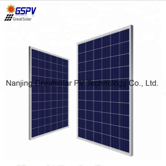 High Quality Cheap Price A Grade 270W Poly Solar Panel pictures & photos