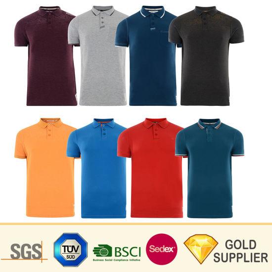 d09c224d7 Wholesale Custom Fashion 100% Cotton Sport Golf Polo Short Sleeve  Sublimation Printed Tshrit Man Woman Boy White Blank Plain Uniform Round  Neck Printing T- ...