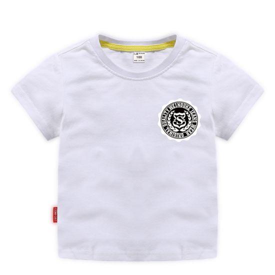 S Badge Korean Summer Children's Clothing Tide Apparel