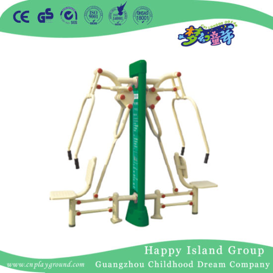 Popular Residential Exercise Equipment Double Stations Luxurious Sit and Tic Training Equipment (HD-13404) pictures & photos