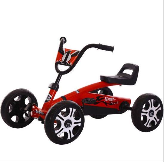 Cool 4 Wheel Kids Pedal Go Kart Children Ride on Toy Racing Car Bike