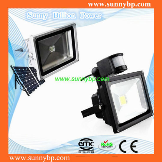 IP65 Solar Cell Security LED Flood Light pictures & photos