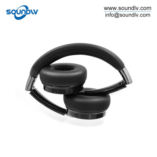f4d5b78cd62 OEM Creative Wireless Bluetooth Stereo Earphone Headphone Retro Style  Headset with Mic