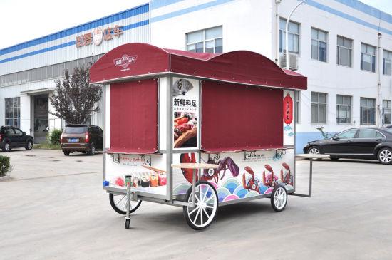 Professional Mobile Food Kiosk on Sale (CE)