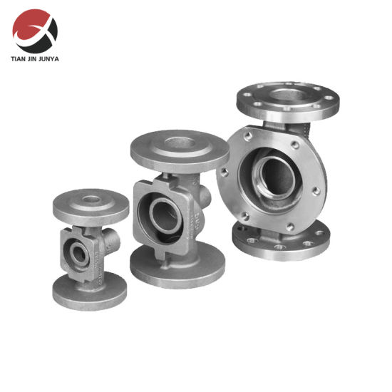 Casting Part Supplier Stainless Steel 304 316 Customized Stainless Steel Body Part Used for 2PC Flange Ball Valve Used in Toilet Bathroom Plumbing Accessories